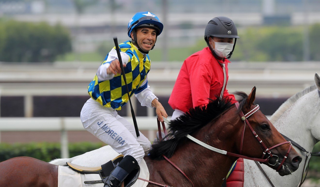 Joao Moreira wins on Computer Patch.