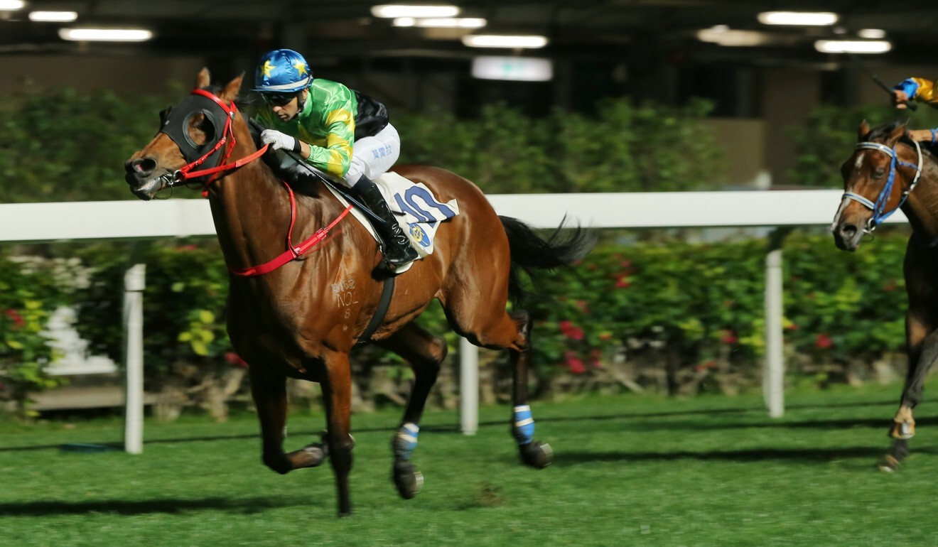 Flash Famous surges to victory under Joao Moreira in March.