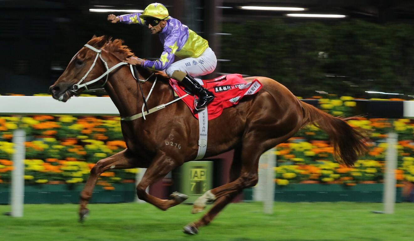 Californiadeepshot wins on debut at Happy Valley in January.