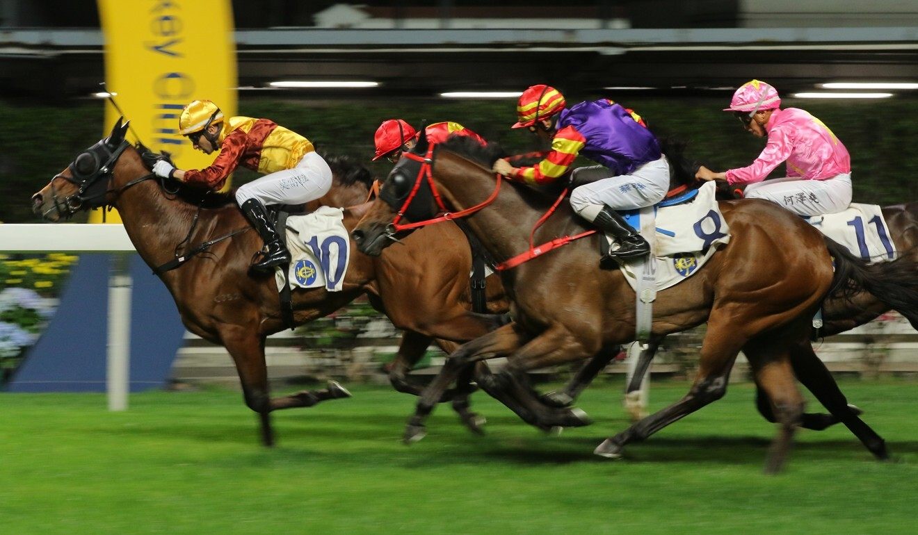 Joao Moreira wins aboard Simply Fluke on April 8, his most recent Valley winner.