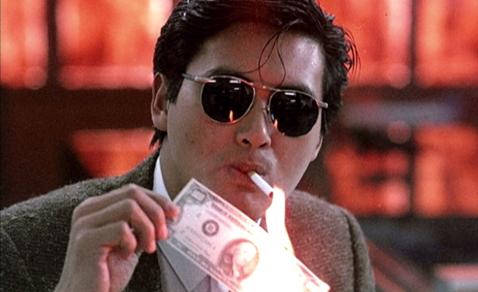 Chow Yun-fat in Woo's A Better Tomorrow (1986). Photo: Cinema City & Films Co