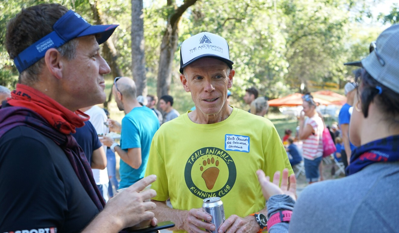 Bob Crowley at the 2019 Western States. He hopes to replicate the race's hospitality the world over. Photo: Handout