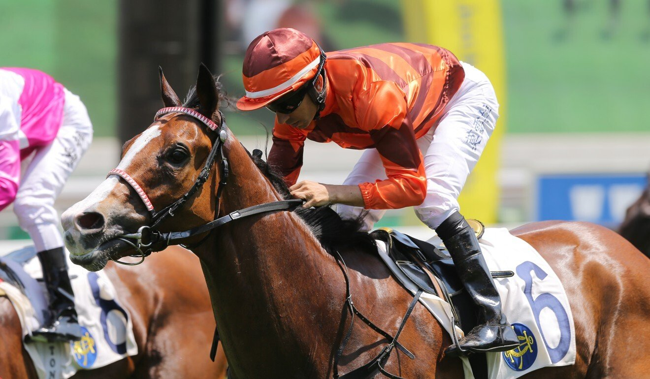 Joao Moreira guides Fabulous Eight to victory.