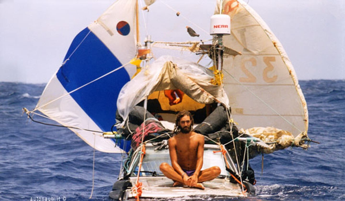 Is this the strangest sail boat ever conceived?