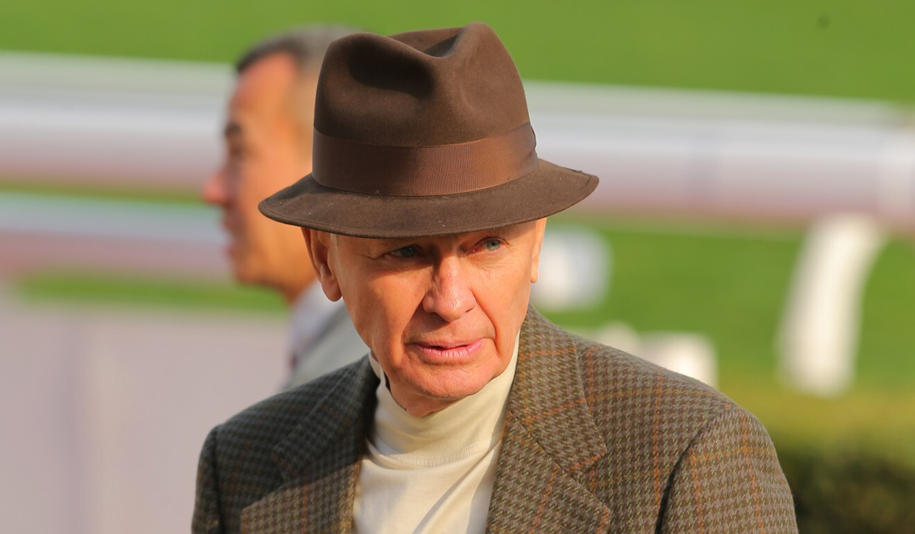 John Moore is the final stages of his Hong Kong training career.