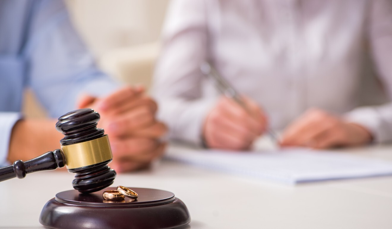 Hong Kong family lawyers say they have received more divorce inquiries amid the coronavirus pandemic. Photo: Shutterstock