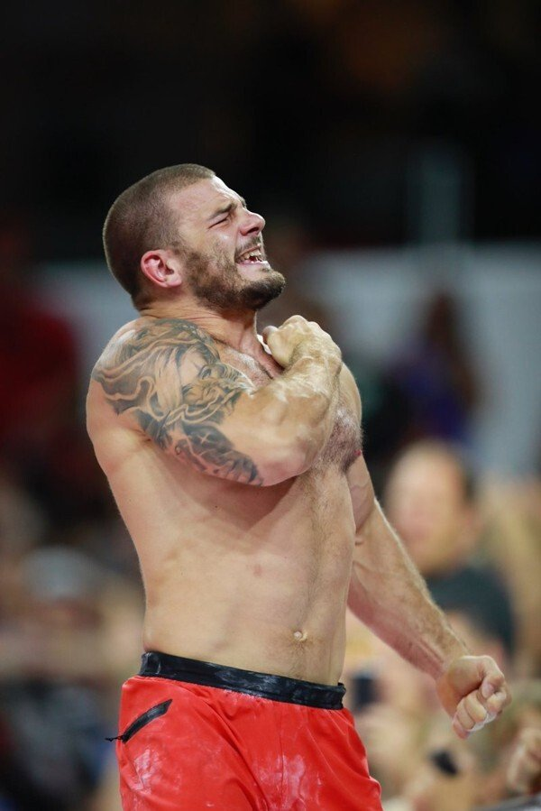 Mat Fraser equals Rich Froning's four CrossFit Games wins in 2019. Photo: CrossFit Games