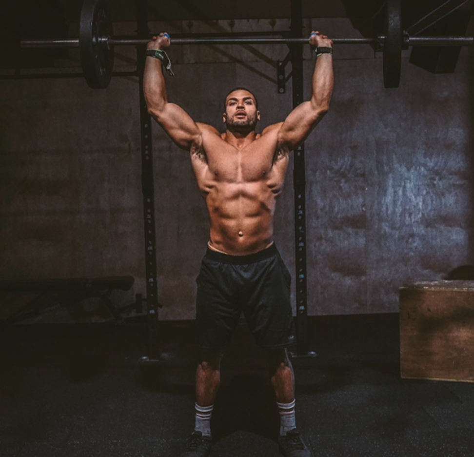 George said his first CrossFit class was a disaster, but he was hooked. Photo: Handout