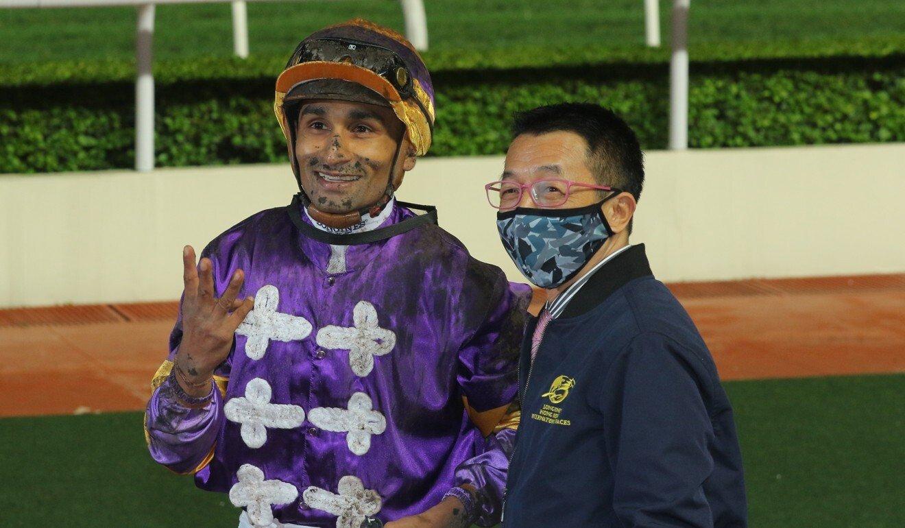 Jockey Karis Teetan and trainer Me Tsui again team up with Mongolian King on Wednesday night.