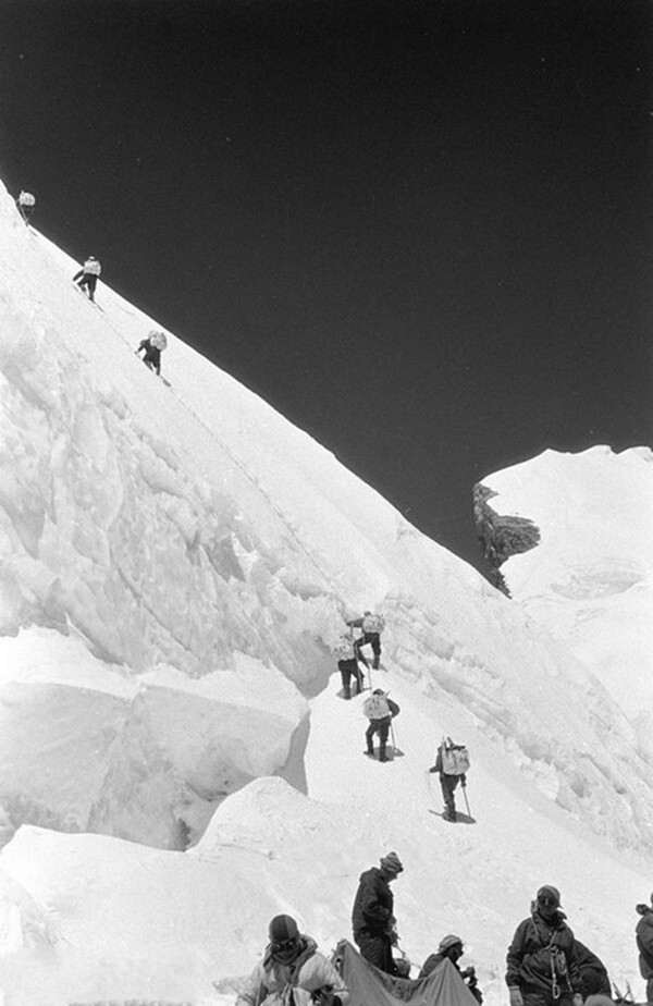 Not only were they the first Chinese team, but the first people of any nation to ascend via the North Col.
