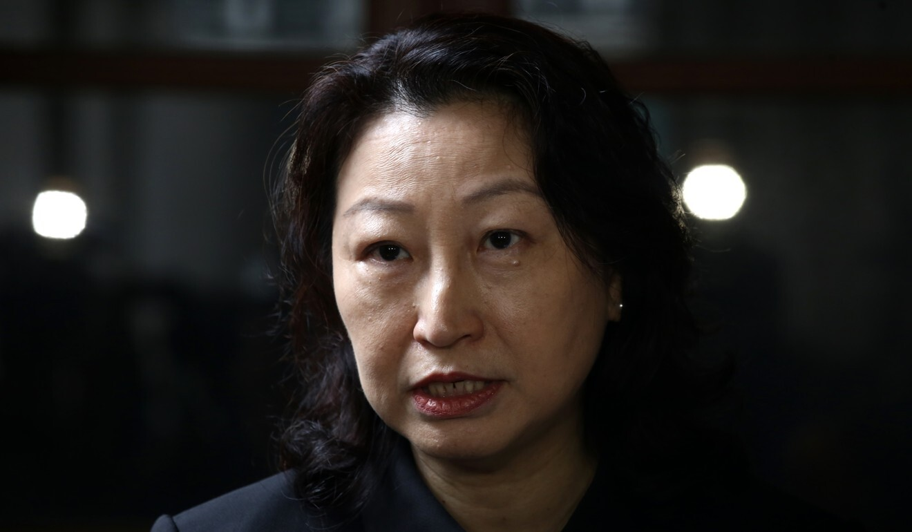 Hong Kong justice chief Teresa Cheng, city's Law Society condemn protesters' attack on lawyer