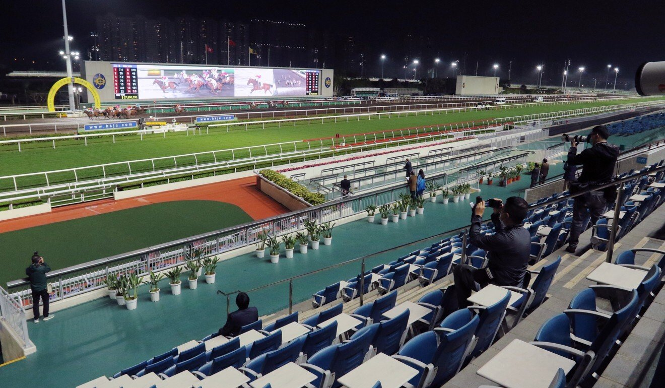 Sha Tin racecourse.