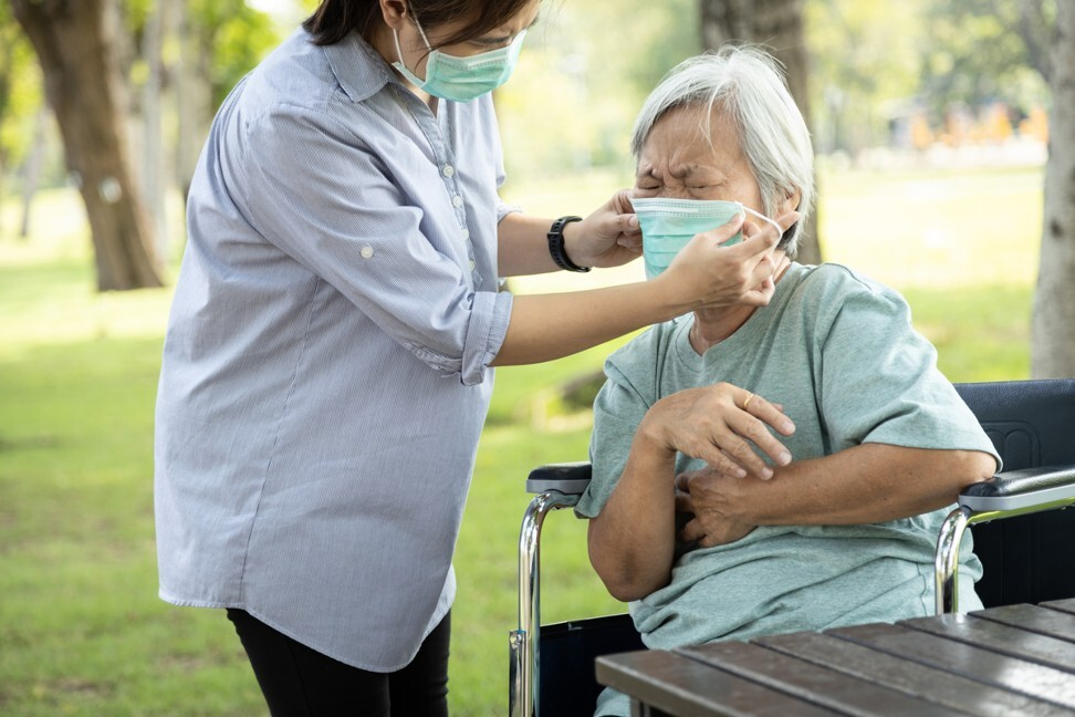 Some seniors may refuse to comply with certain rules, such as the wearing of masks, when their regular routines are disturbed. Photo: Shutterstock