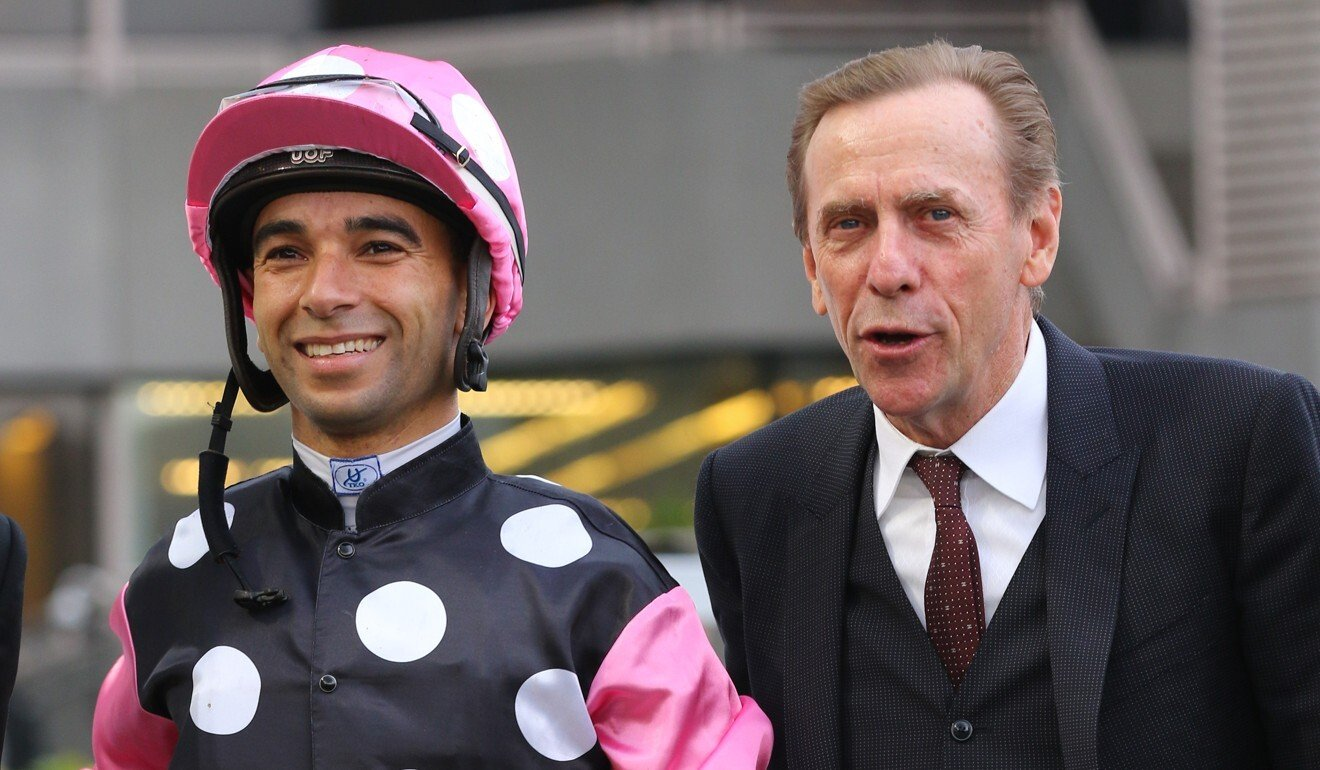 Joao Moreira and John Size.