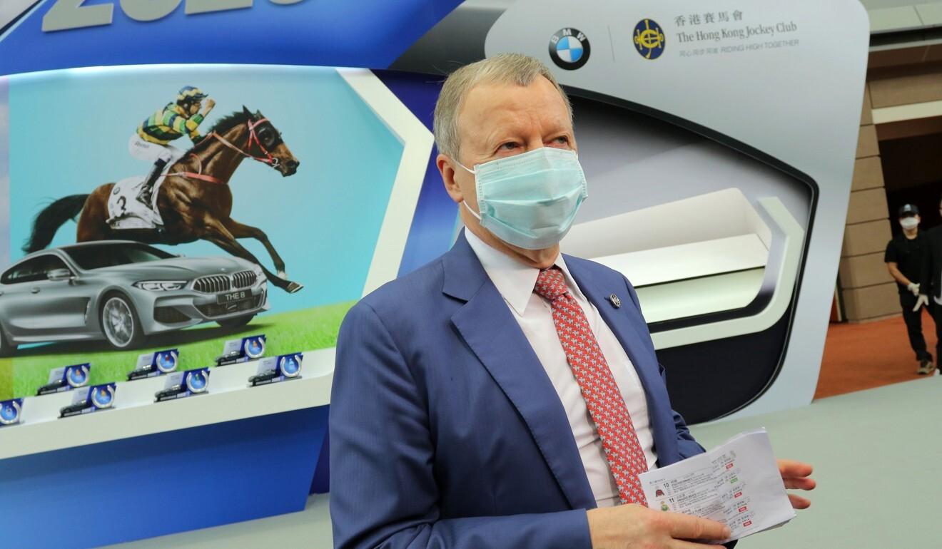 Jockey Club chief executive Winfried Engelbrecht-Bresges.