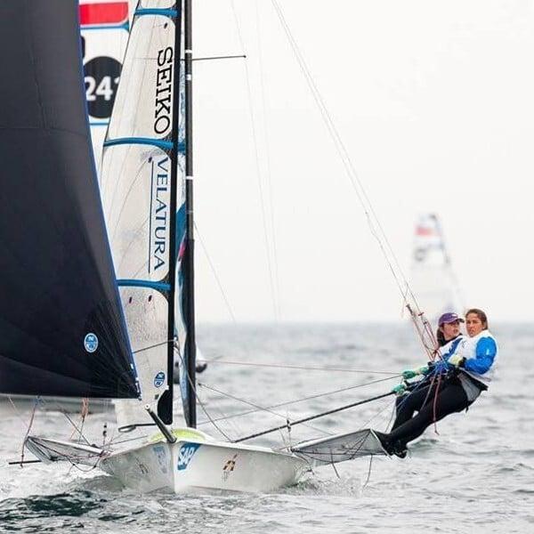 Maria Cantero believes hard work trumps talent. Photo: Sailing Pix