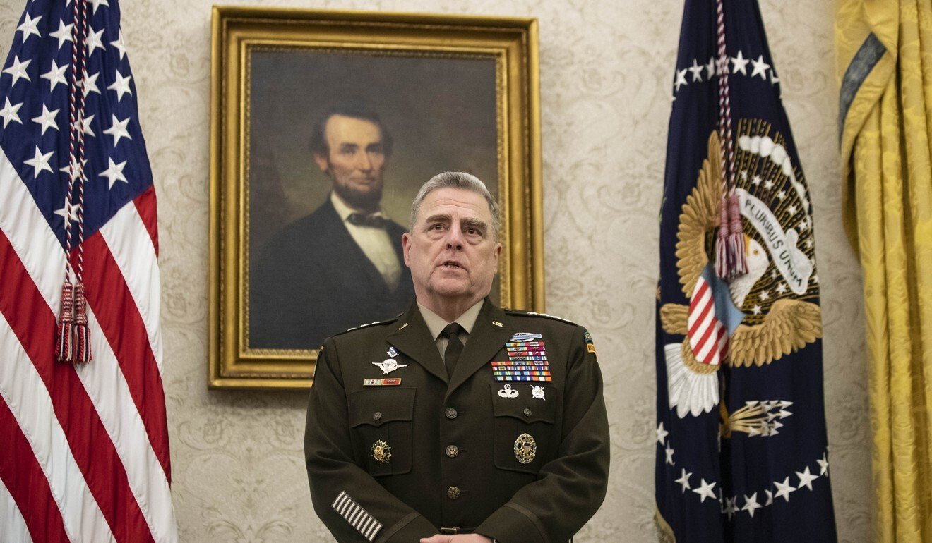 Joint Chiefs Chairman General Mark Milley. Photo: AP