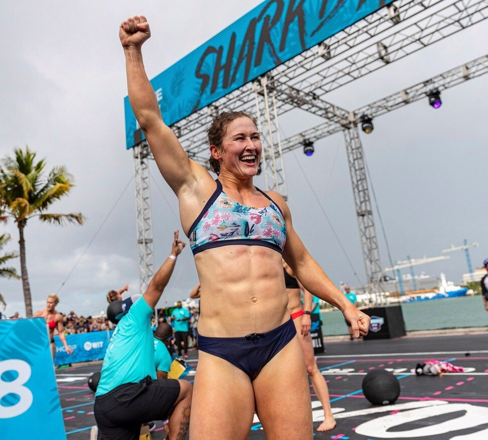 Tia-Clair Toomey joins a growing list of athletes who have condemned Glassman's tweets. Photo: Handout