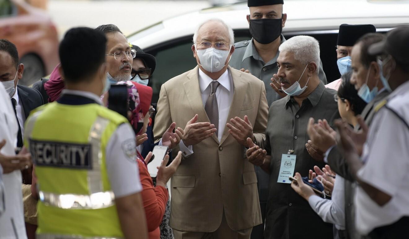 Disgraced former leader Najib Razak. Photo: AP