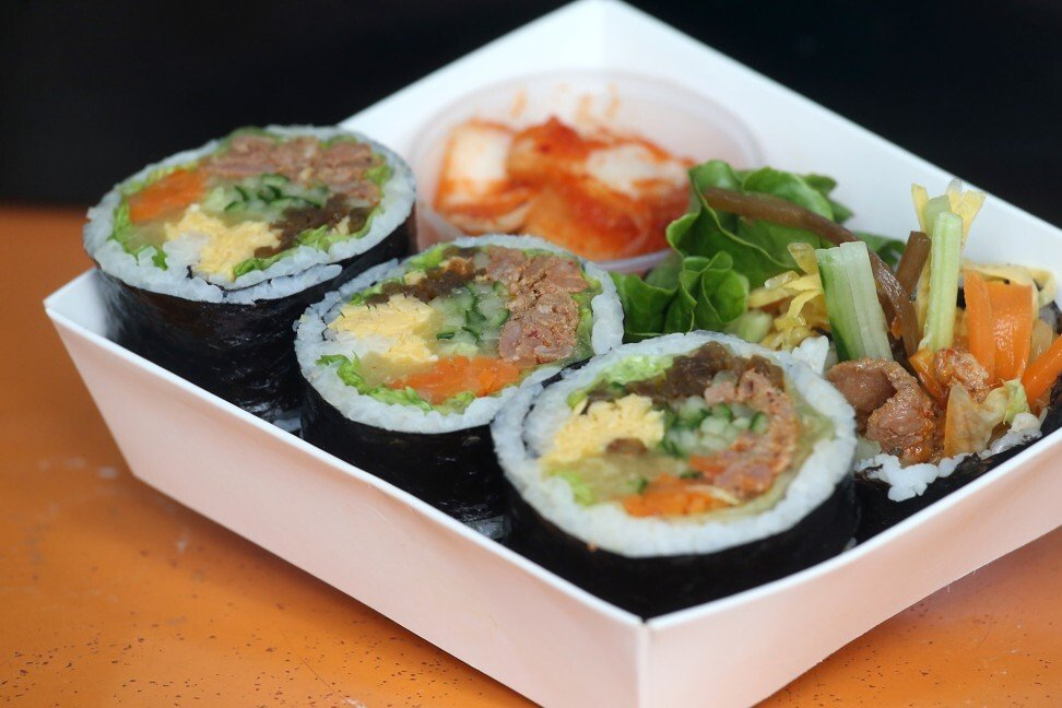 Which came first, sushi or kimbap? Japan and Korea tangle over the origin of rice, fish and seaweed rolls