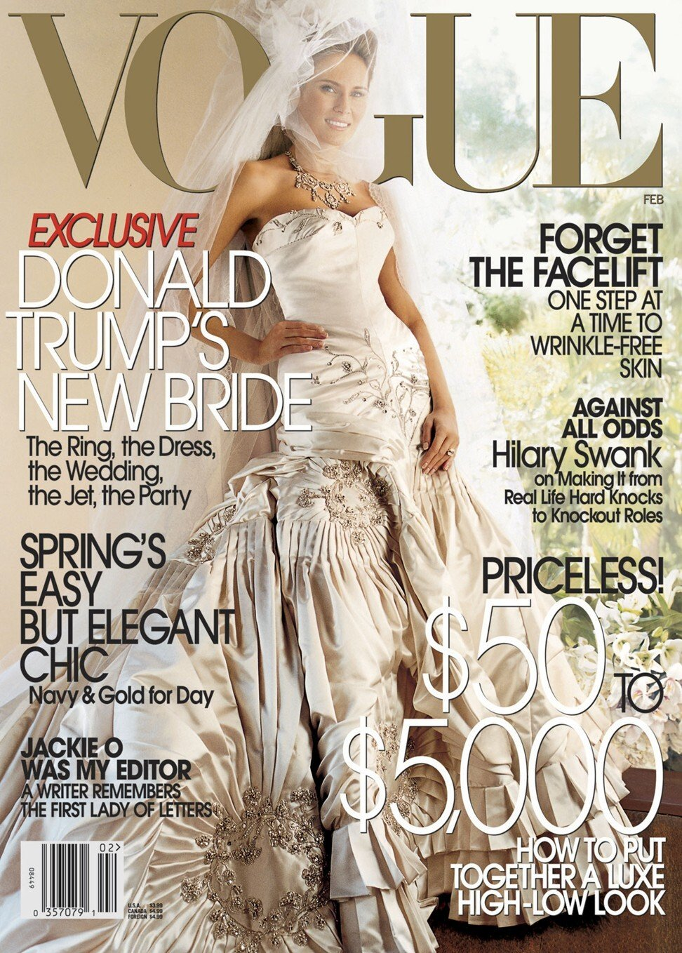 Melania Trump Is Worth Us 50 Million How Did She Make Her Money And Did Husband Donald Trump Help South China Morning Post