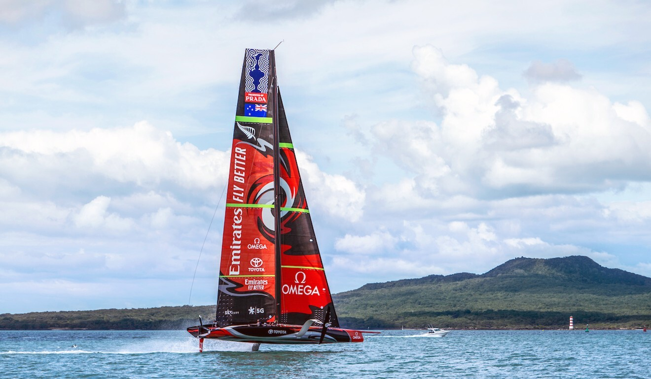 The America's Cup is about combining great sailing with top engineering. Photo: OMEGA