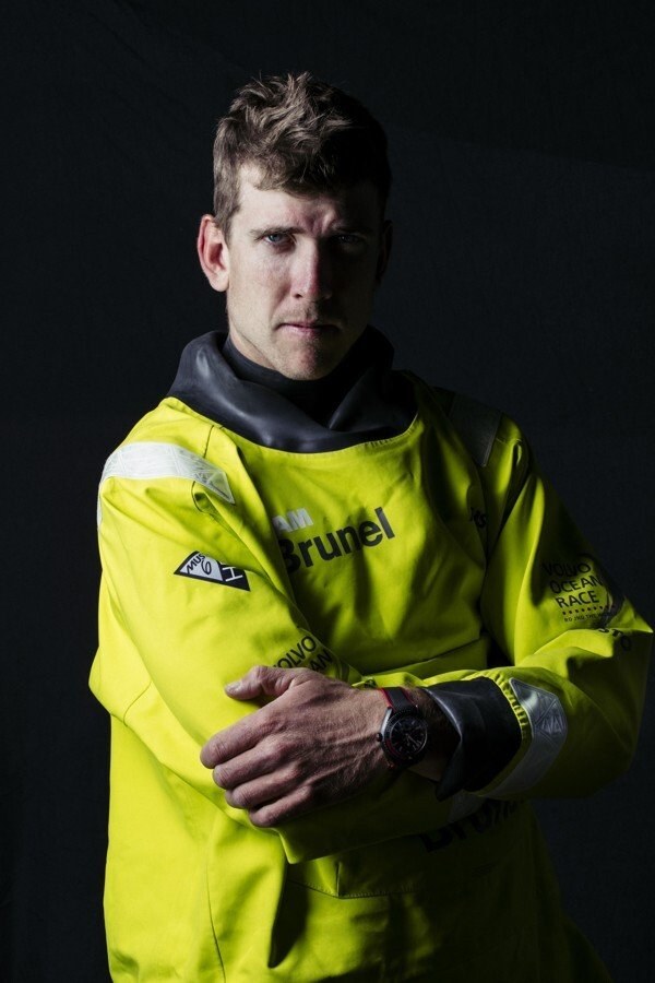Peter Burling is helm for Team New Zealand, an Olympic gold medallist and an Ocean Race sailor. Photo: OMEGA