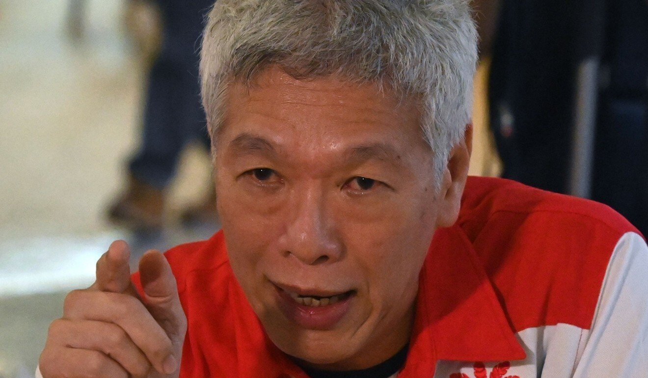 Lee Hsien Yang, the brother of Singapore's Prime Minister Lee Hsien Loong, is see on June 24 after he joined an opposition party. Photo: AFP