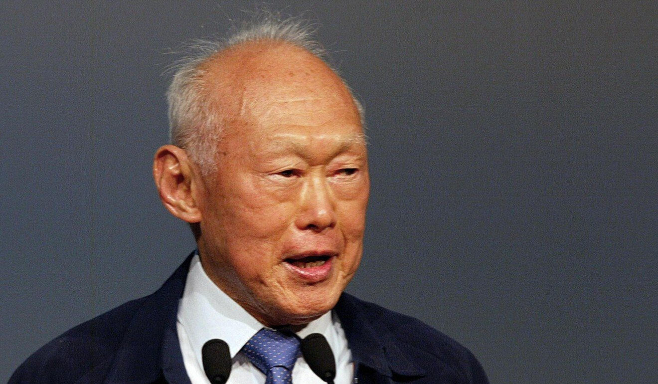 Singapore's founding father Lee Kuan Yew. Photo: AFP