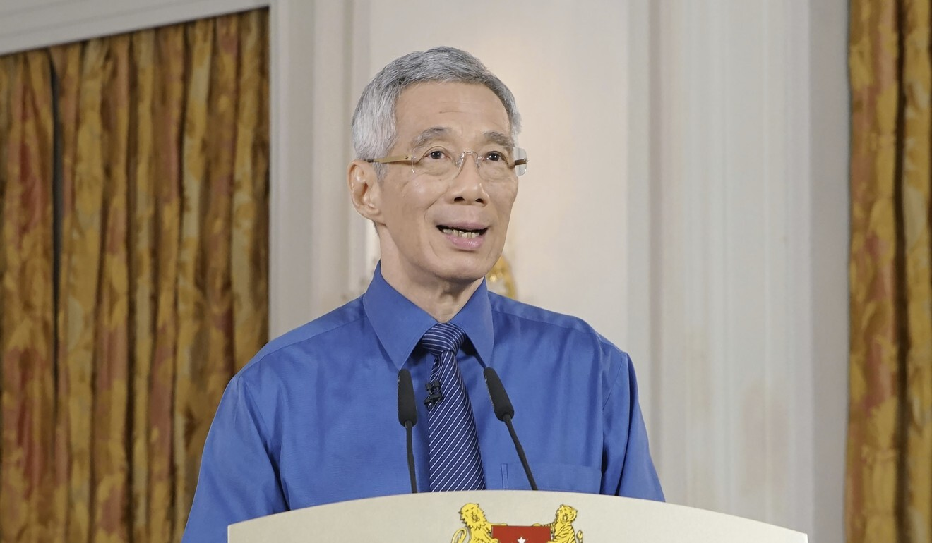 Singapore Prime Minister Lee Hsien Loong. Photo: AP