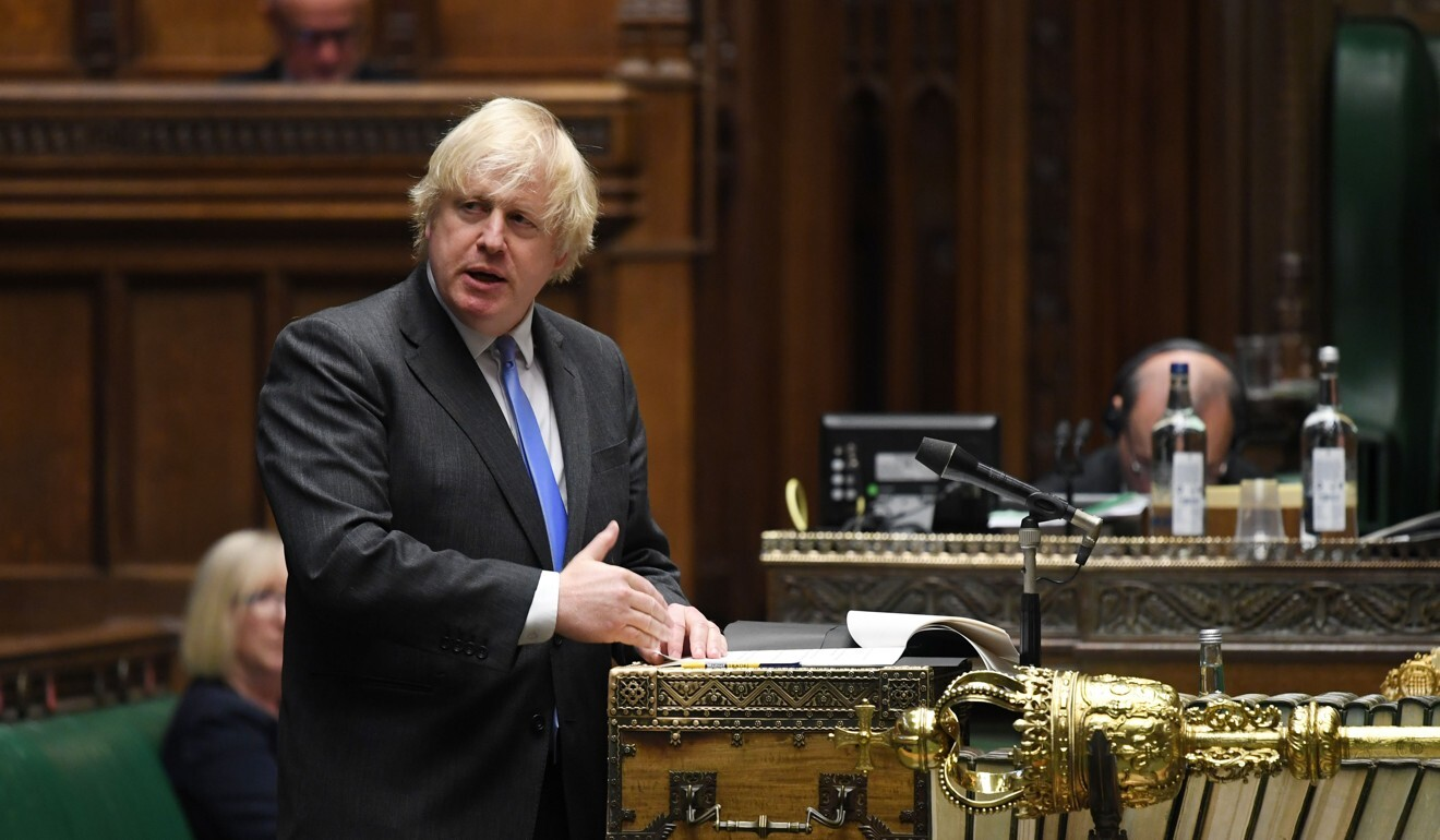 Prime Minister Boris Johnson has made trade deals a priority after supporting Brexit before the referendum. Photo: AFP