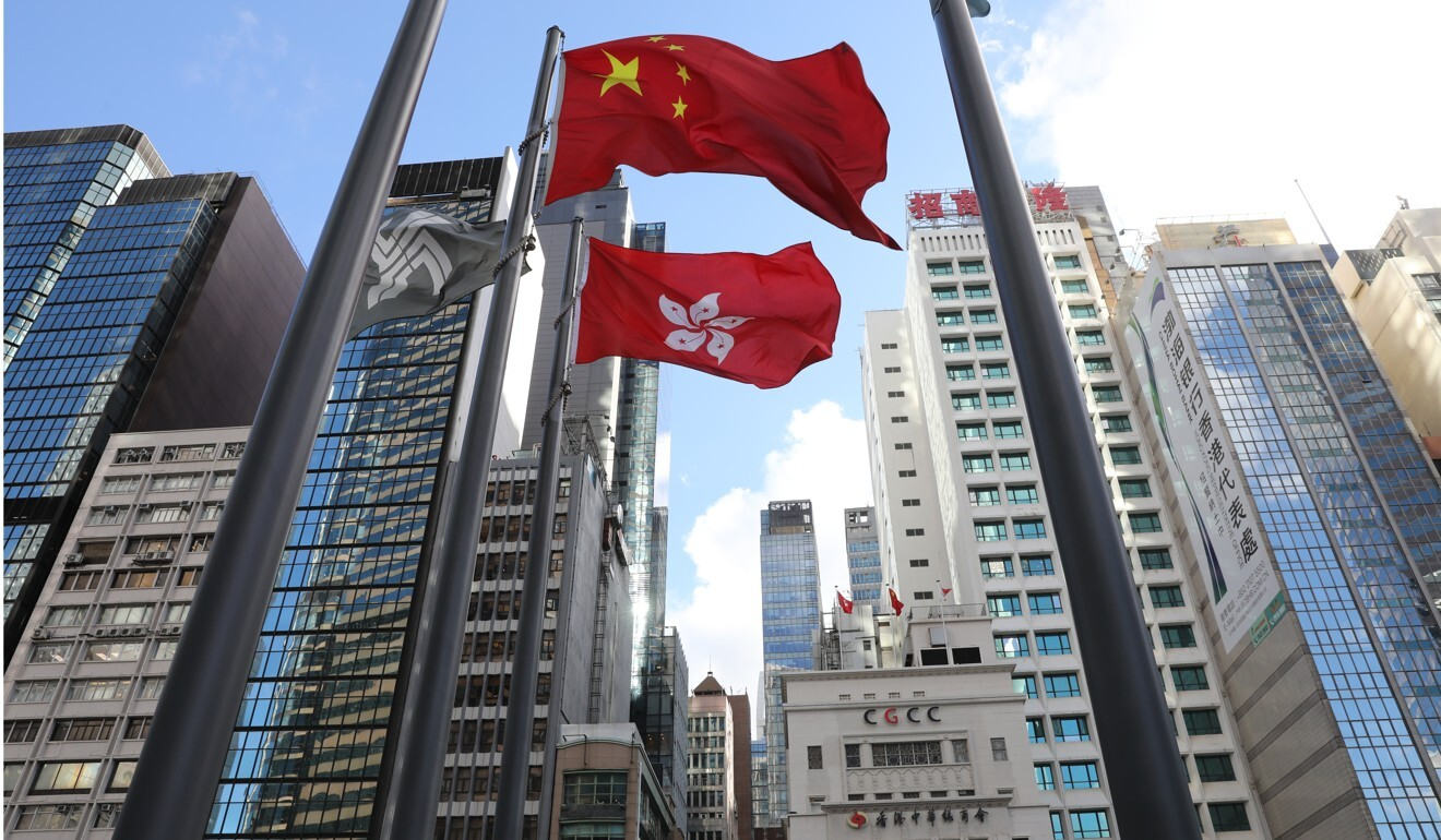 Hong Kong will be able to start anew with implementation of the law, Carrie Lam says. Photo: Dickson Lee// Hong Kong national security law.