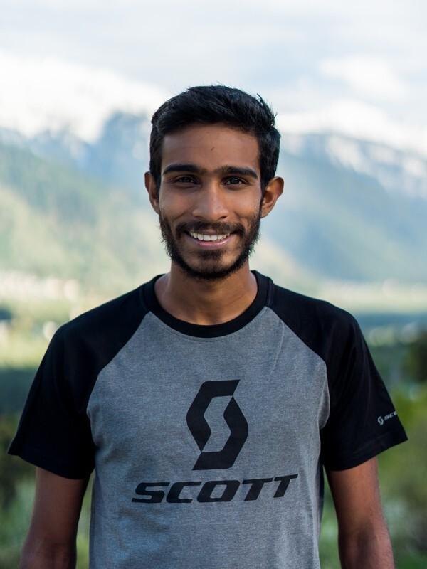 Kieren D'Souza, Indian trail runner and mountaineer.