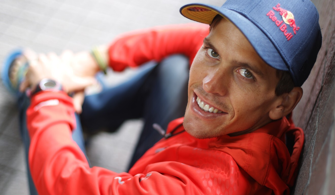 Ryan Sandes says fun is key to training for adventure runs. Photo: SCMP