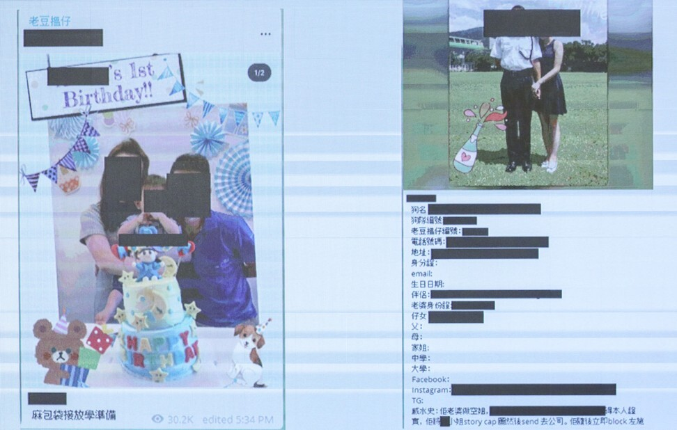 Police say the personal information of more than 3,400 officers, their family members and friends has been disclosed unlawfully since June last year. Photo: Nora Tam