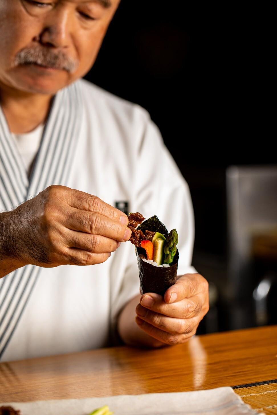 Waygu, the plant-based Wagyu beef alternative that fooled master chef Hidekazu Tojo