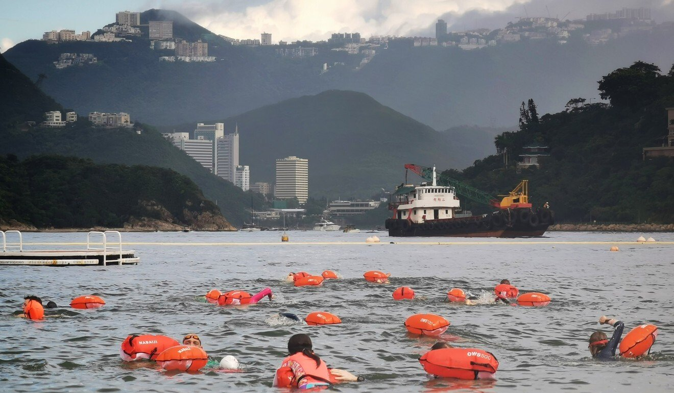 At first, only four children were expected to join but now 16 intend to swim the whole distance.