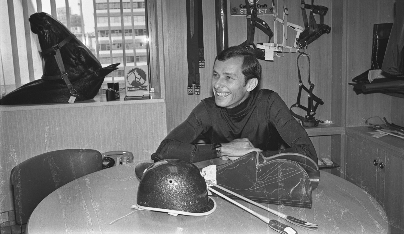 Jockey John Moore at an interview in 1978. Photo: SCMP