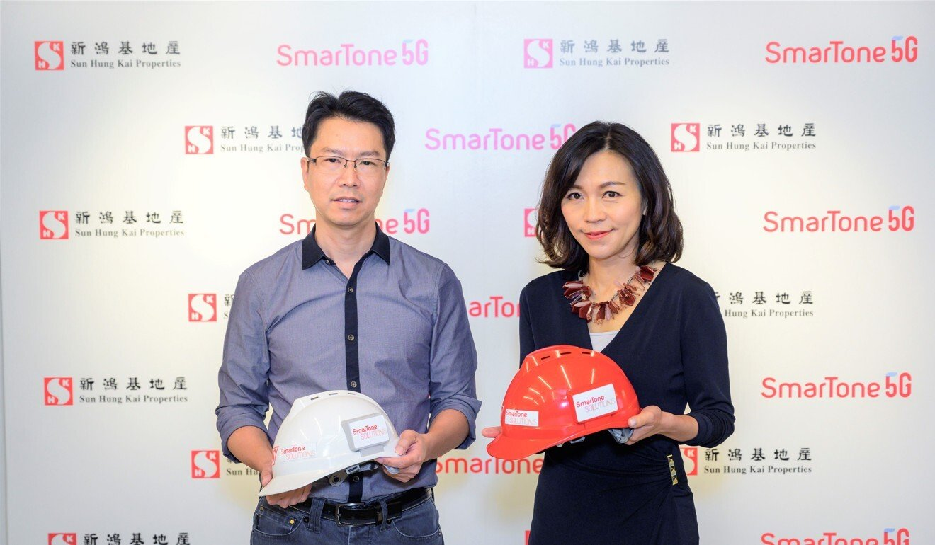 Sun Hung Kai Properties' use of 'smart helmets' for construction workers cuts down accidents at its construction site to zero
