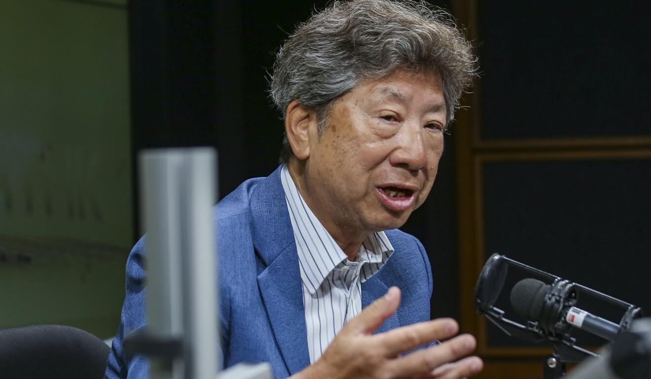 Exco member Ronny Tong. Photo: Xiaomei Chen