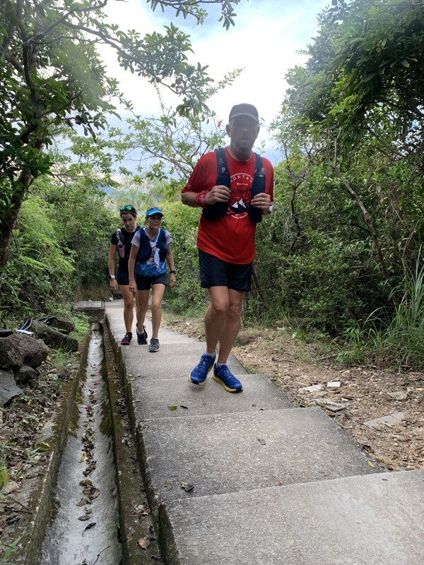 Steve Pheby's route took him all across the New Territories, Kowloon and Hong Kong Island.