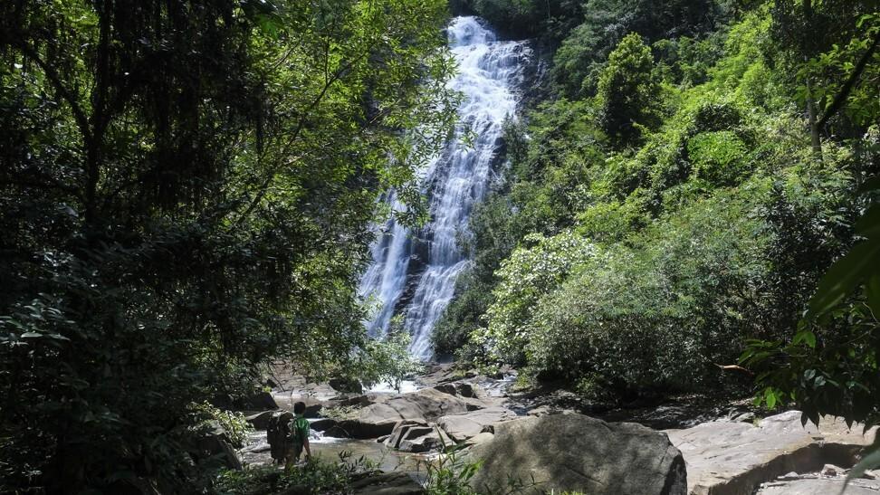 探索Chhai Tapang瀑布值得在森林中艰难地远足。 照片:彼得·福特