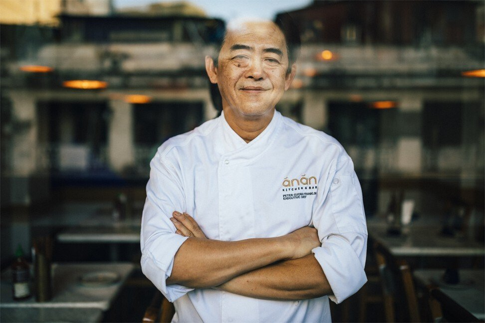 Chef Peter Cuong Franklin, owner of Anan Restaurant and Nhau Nhau Bar in Ho Chi Minh City.