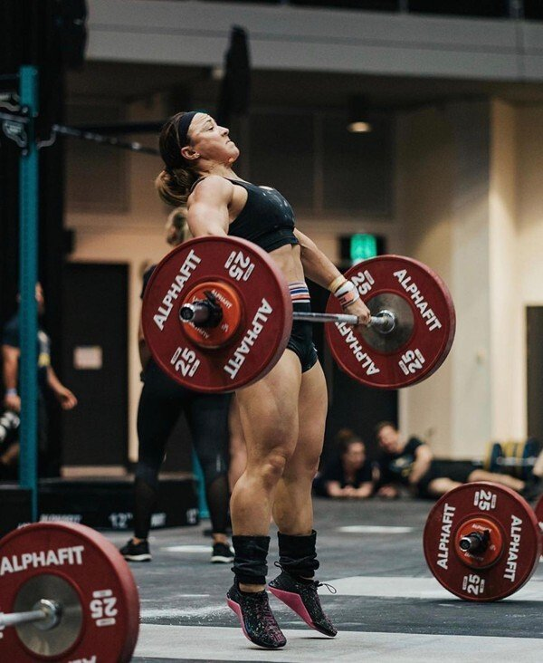 Kara Saunders doing what she does best. Photo: @alphafit_aus