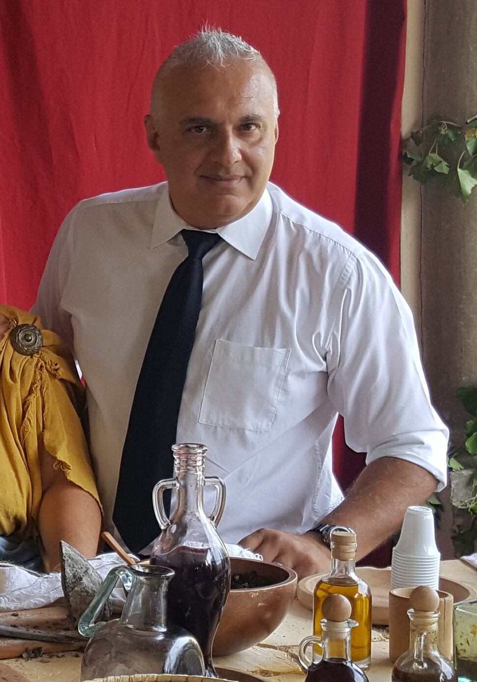 Food historian Giorgio Franchetti is a scholar of ancient Roman history and the author of the book Dining with the Ancient Romans.