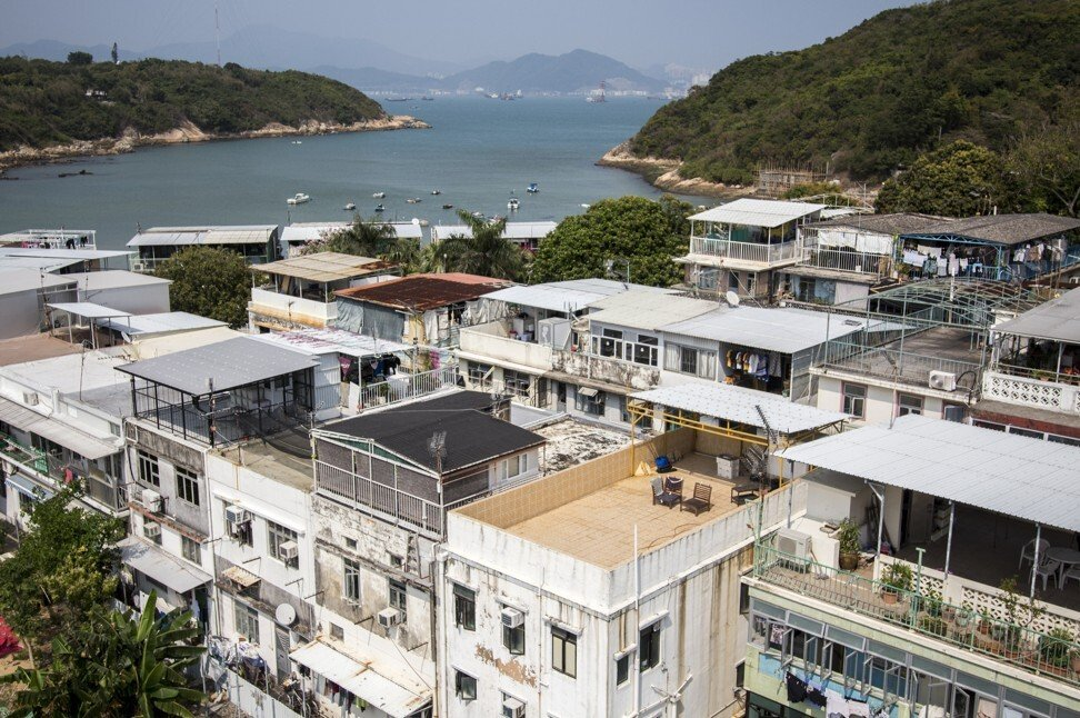 A view of the village centre of Peng Chau, an outlying island on the route of the Ming River kaito. Photo: Christopher DeWolf