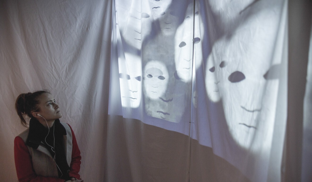 The Chinese Whispers art installation, inspired by the racial violence in Indonesia in 1998. Photo: Rani Pramesti