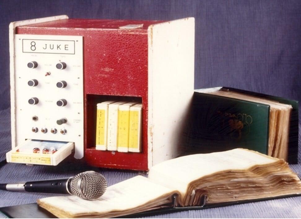 The original karaoke machine, the Juke 8, circa 1971. Photo: Daisuke Inoue Young