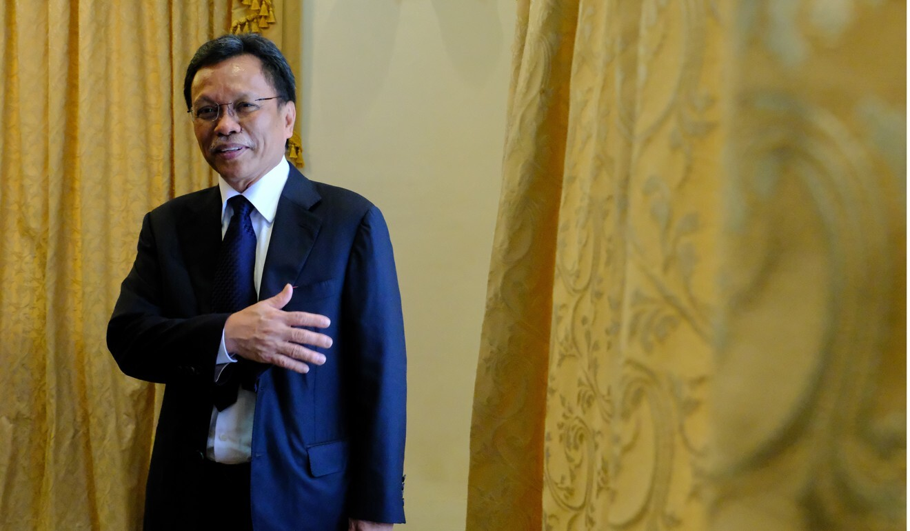 Shafie Apdal, head of the Warisan Party. Photo: Bloomberg