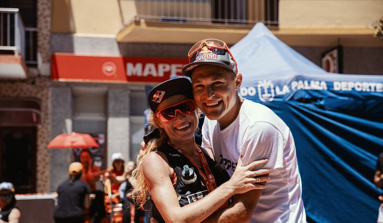 Dmitry Mityaev and his wife Ekaterina are two of the top trail runners in Russia.